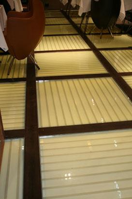 Glass Floor Close Up