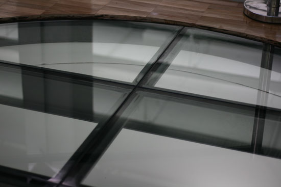 Glass Floor Close Up