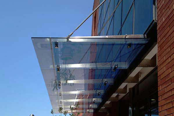 Glass Canopy Manufacturer Company Sydney | Glass Metal Design